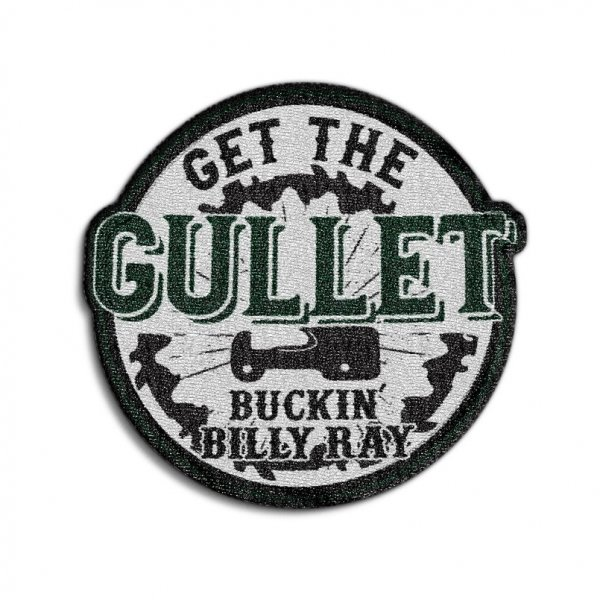 Get The Gullet Circle Patch