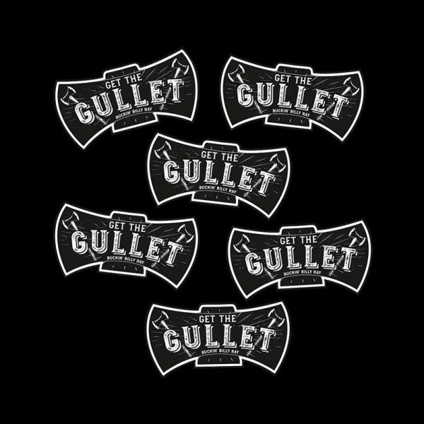 Get The Gullet Stickers