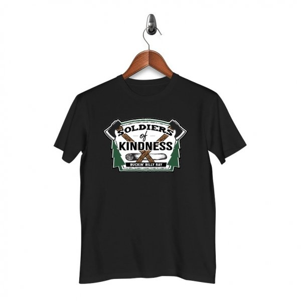Soliders of Kindness - T-Shirt - Black