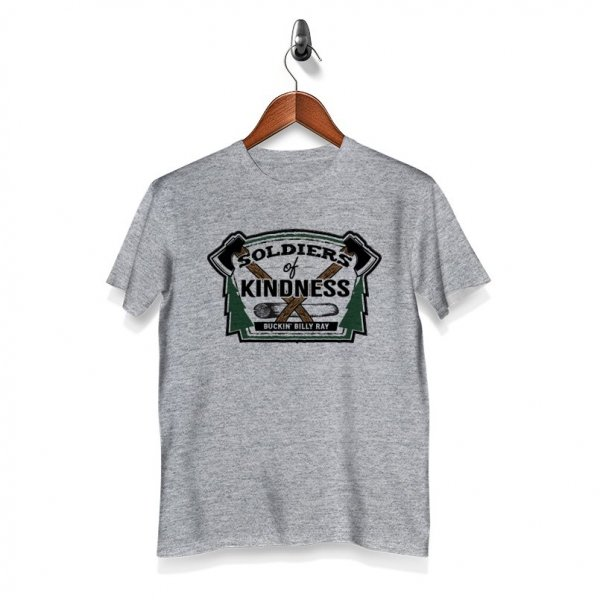 Soliders of Kindness - T-Shirt - Grey