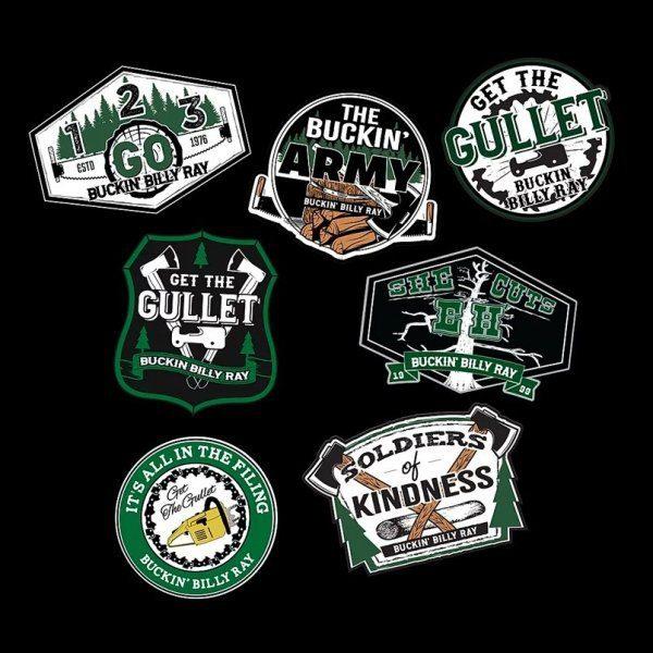 Buckin Sticker Pack